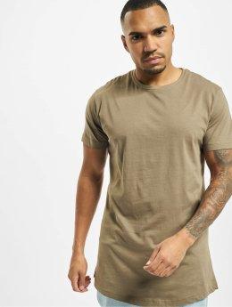 Urban Classics T-shirts Shaped Oversized Long  grøn