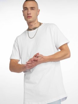 Urban Classics T-Shirty Shaped Long bialy