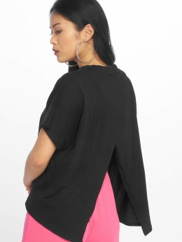 Urban Classics T-Shirty Overlap Turtleneck czarny
