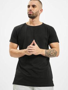 Urban Classics T-Shirty Turnup czarny