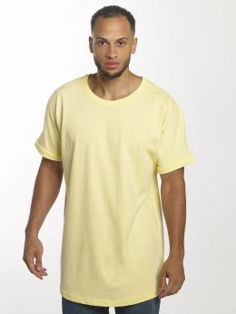 Urban Classics Tall Tees Long Shaped Turnup geel