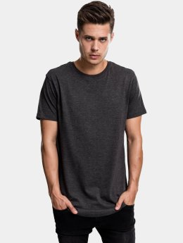 Urban Classics Tall Tees Shaped Melange Oversized Long harmaa
