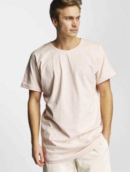 Urban Classics Tall Tees Long Shaped Turnup rosa