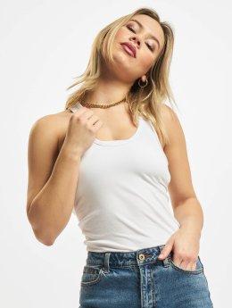 Urban Classics Tank Tops Ladies Jersey bianco