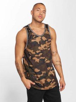 Urban Classics Tank Tops Camo Mesh camouflage