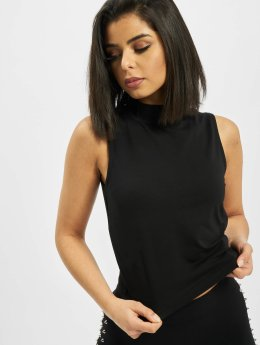 Urban Classics Tank Tops Ladies Turtleneck musta