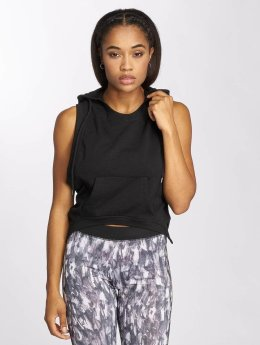 Urban Classics Tank Tops Terry Hooded musta