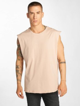 Urban Classics Tank Tops Open Edge rosa