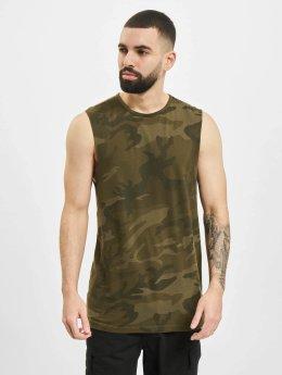 Urban Classics Tanktop Camo camouflage