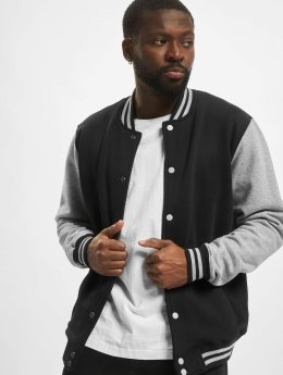Urban Classics Teddy 2-Tone College Sweatjacket  noir