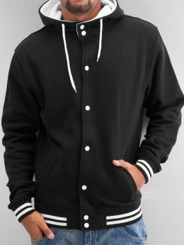 Urban Classics Teddy Hooded College noir