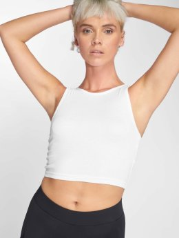 Urban Classics top Rib Cropped wit