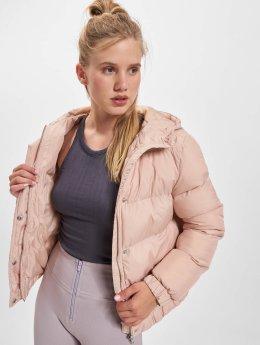 Urban Classics Toppatakkeja Hooded Puffer roosa