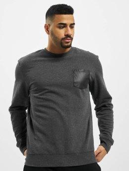 Urban Classics Trøjer  Contrast Pocket  grå