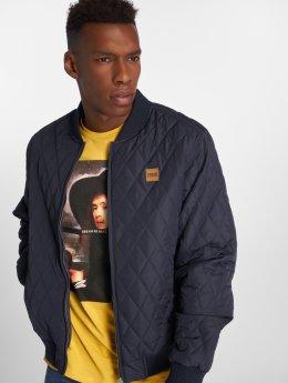 Urban Classics Transitional Jackets Diamond Quilt Nylon blå