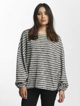 Urban Classics trui Oversize Stripe zwart