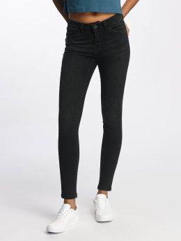 Urban Classics Tynne bukser Skinny Denim svart
