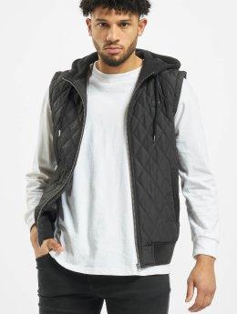 Urban Classics Vest Diamond Quilted black