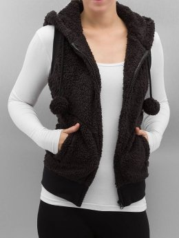 Urban Classics Vest Ladies Teddy black