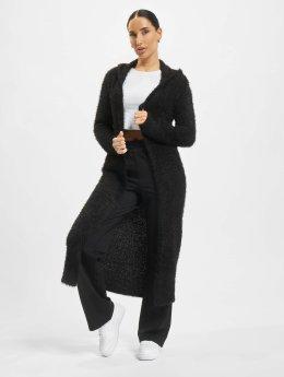 Urban Classics vest Hooded Feather zwart