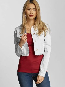 Urban Classics | Ladies Short Denim blanc Femme Veste Jean