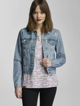 Urban Classics Veste Jean Ladies Denim bleu