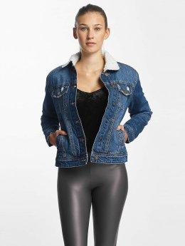 Urban Classics | Sherpa Denim bleu Femme Veste Jean