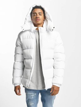 Urban Classics Veste matelassée Hooded Puffer blanc