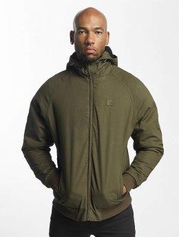 Urban Classics Veste mi-saison légère Hooded Zip olive