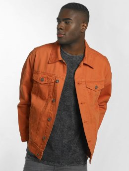 Urban Classics Veste mi-saison légère Garment Dye Oversize orange