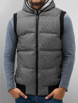 Urban Classics Weste Double Hooded grau