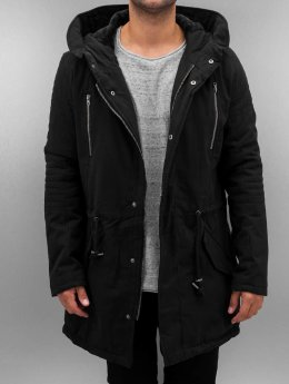 Urban Classics Winter Jacket Sherpa Lined Biker black