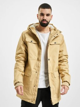 Urban Classics winterjas Heavy Cotton beige