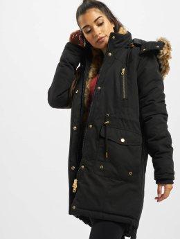 Urban Classics winterjas omega zwart