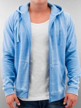 Urban Classics Zip Hoodie Burnout blau