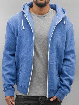 Urban Classics Zip Hoodie Melange blau