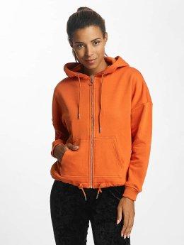 Urban Classics Zip Hoodie Kimono orange