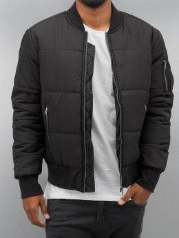 Urban Classics Zomerjas Basic Quilt zwart