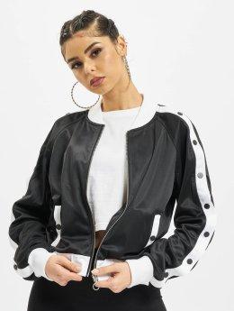 Urban Classics Zomerjas Button Up zwart