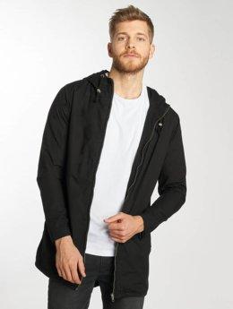 Urban Classics Zomerjas Light Cotton zwart