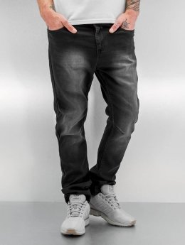 Urban Surface Jean coupe droite Sweat Denim Optics noir