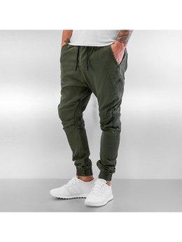 Urban Surface Jogging kalhoty Panel hnědožlutý