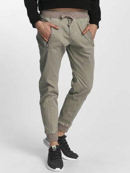 Urban Surface Látkové kalhoty Chino šedá