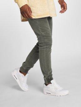 Urban Surface Látkové kalhoty Chino Sweat zelený