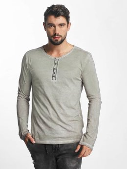 Urban Surface Longsleeve Button braun