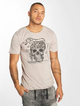 Urban Surface t-shirt Skull Wood grijs