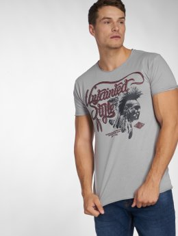 Urban Surface T-Shirt Top gris