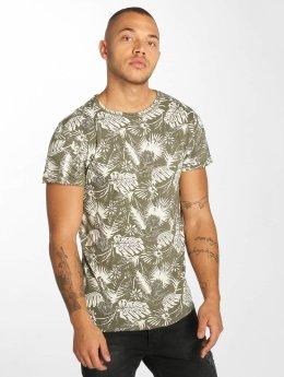 Urban Surface t-shirt Allover olijfgroen