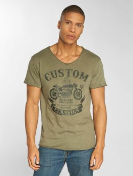 Urban Surface T-Shirt Custom olive