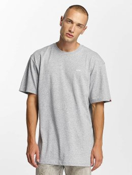 Vans T-Shirt Left Chest Logo grau